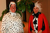 Cruella de Ville and her Dalmatian at Mardi Gras