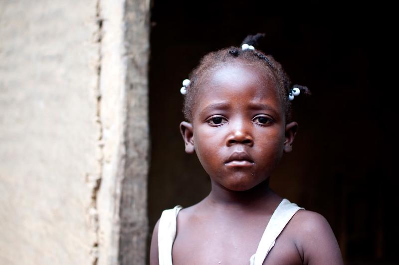 Child, Tremesse, Haiti