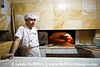 Turkish baker and his oven.