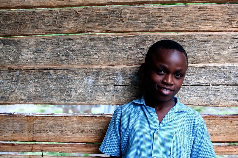 School boy, Tremesse, Haiti