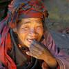 Жительница долины Тзум. Непал. Народ, населяющий этот район - носители уникального диалекта тибетского языка. В повседневной жизни они сохранили традиции и обычаи своих тибетских предков. Фотография - Валерий Гаркалн