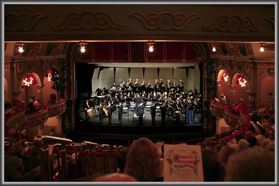 """New Holland Band"" This photo was taken of the Band performing a Sousa Concert in the Fulton Opera House located in Lancaster, PA."