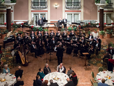 New Holland Band--Palm Court, Willow Street, Pa Christmas 2012