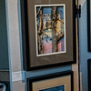 Of the many fine artists here on display the works by Carol Schmedinghoff were my favorite. She made the most marvelous nature scene's in mini picture frames. They were just marvelous.