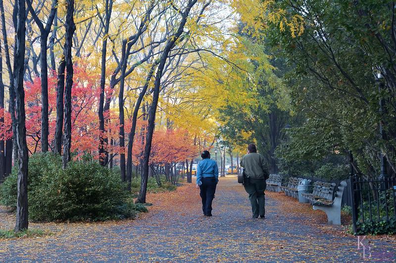 DSC_5166 Battery Park City on a fall morning