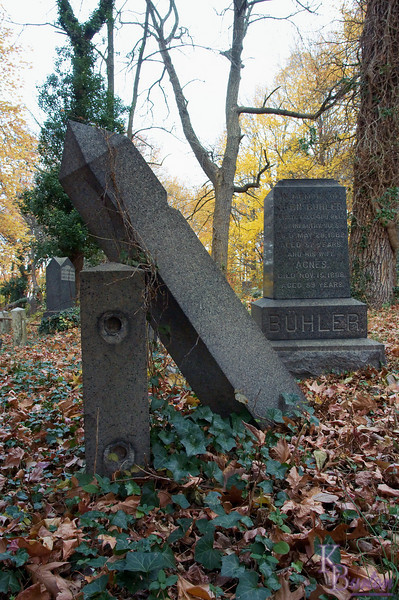This funeral plot dates back to the late 19th century, and is a poignant testament both to that which endures and that which cannot.