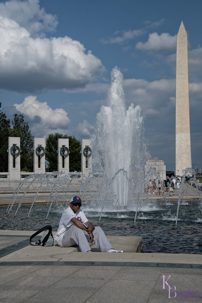 I spent many moments taking touristy shots with Curtis, as we enjoyed our first time visiting DC before the ballgame against the Nationals this evening.