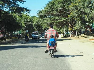 Bangan streets