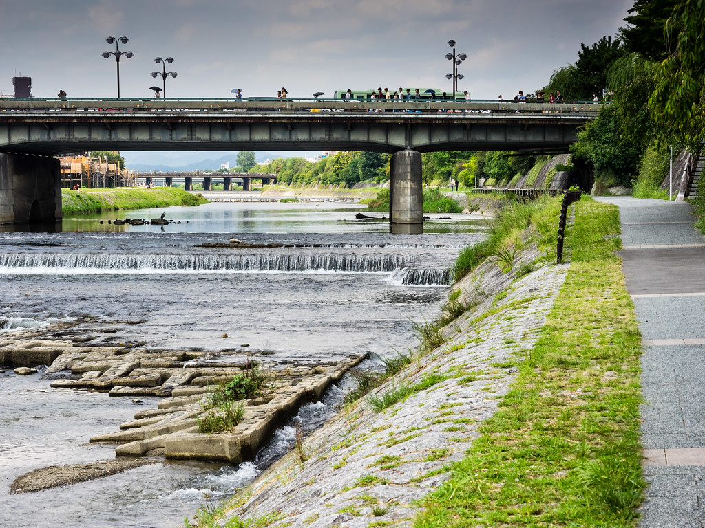 Kyoto river walk