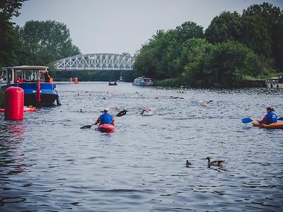 750m swim down the Thames