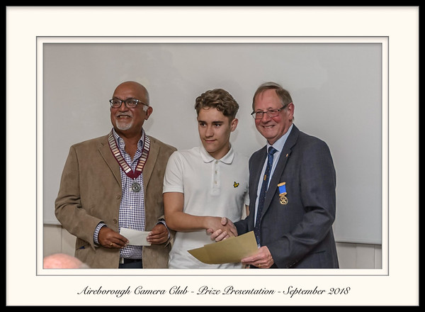 Aireborough Camera Club Presentation Night