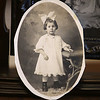 Lillian Pratte, who lives at Willow Manor in Lowell, will celebrate her 105th birthday on the Fourth of July. Lillian Dufault, age 3 years 9 months, dated April 4, 1916. (SUN/Julia Malakie)