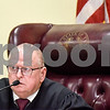 Judge Jack Skeen speaks during a pre-trial hearing at the Smith County Courthouse in Tyler, Texas, on Wednesday, Nov. 8, 2017. (Chelsea Purgahn/Tyler Morning Telegraph)