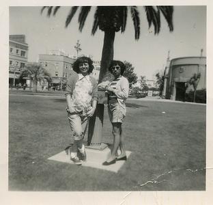 1951-josie-with-nellie