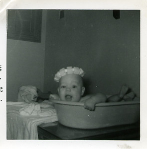 Evidence that I was born to love the water!