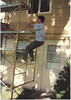 Scott - painting the house 1991