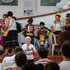 Then, in the afternoon, there was a cultural performance with young groups from Trujillo.