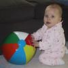 Lauren with ball