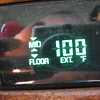 Car thermometer - Abilene, KS