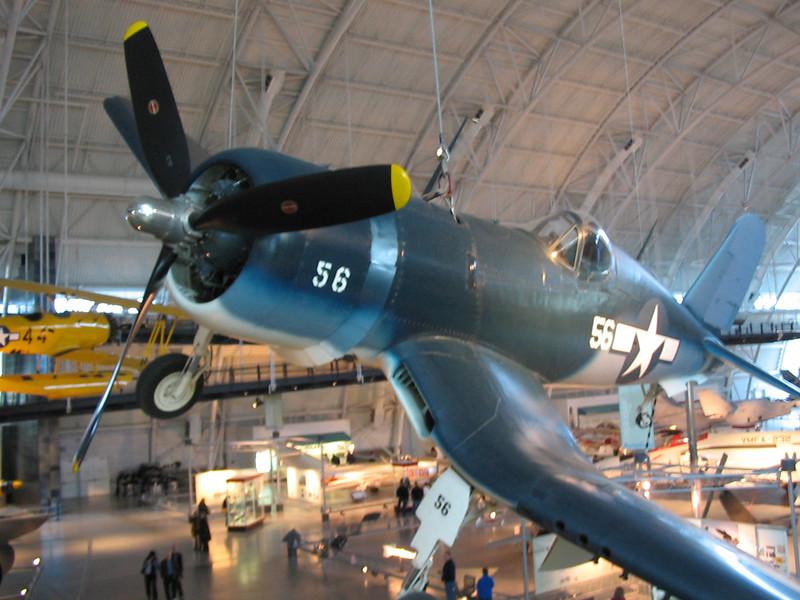 Air & Space museum near Dulles  ...corsair