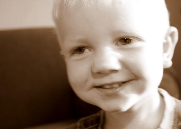 One of Cole's self portraits.