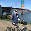 Biked from the wharf to Tiburon
