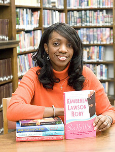 Belvidere author Kimberla Lawson Roby with her new book Sin No More.