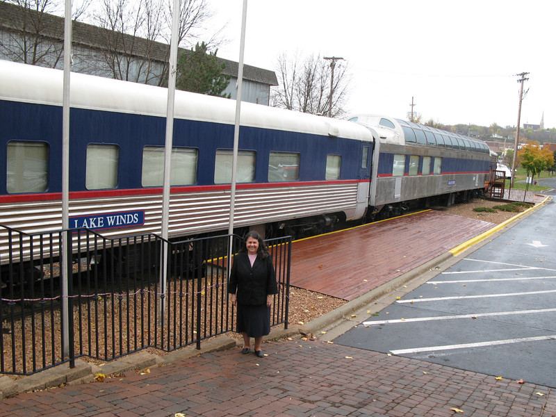 dinner train at Stillwater