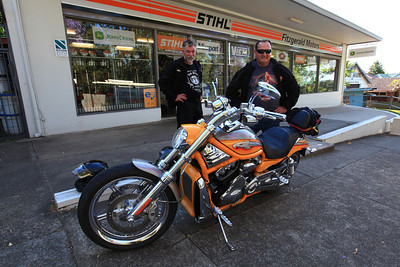 Custom Harley owner