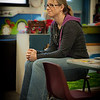 007 Laura Adams Bowers: Watching her son's kindergarten class celibrating his birthday.