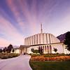 Provo LDS Temple - Colorful Sunrise