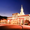 Bountiful Utah LDS Temple - Early Morning twilight