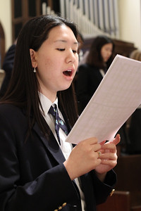 Holy Spirit Preparatory School senior Grace Yang is passionate about music. She plays the viola and sings in the schoolÕs liturgical choir. Yang plans to double major in viola performance and music therapy at Baldwin-Wallace College, Berea, Ohio.