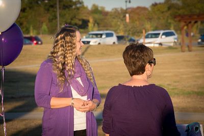 2013 Purple Light Vigil Bentonville Arkansas