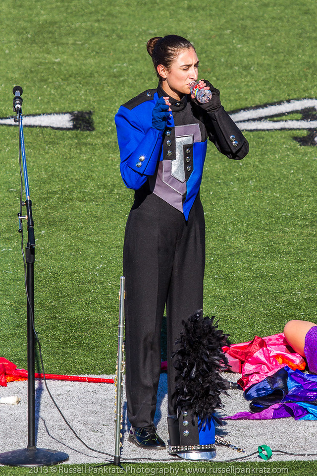 20131022 Julia at UIL Reg 18 Marching Contest-1