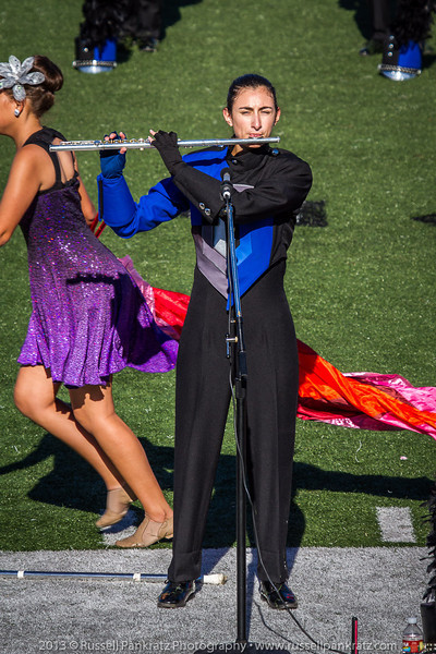20131022 Julia at UIL Reg 18 Marching Contest-2