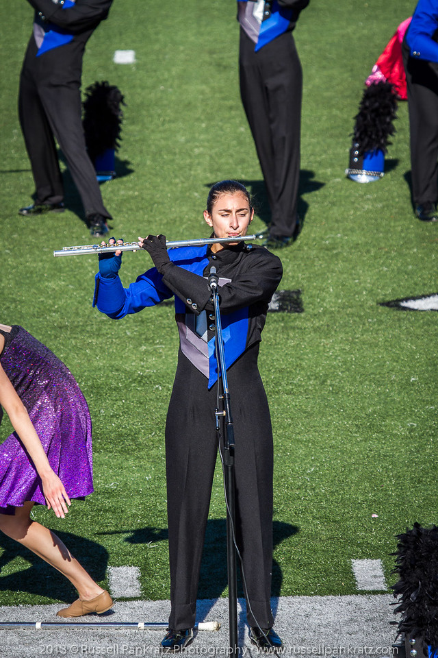 20131022 Julia at UIL Reg 18 Marching Contest-11