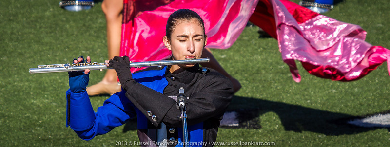 20131022 Julia at UIL Reg 18 Marching Contest-3