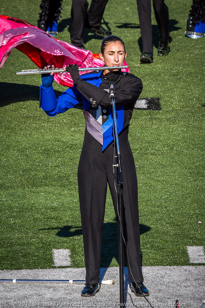 20131022 Julia at UIL Reg 18 Marching Contest-4