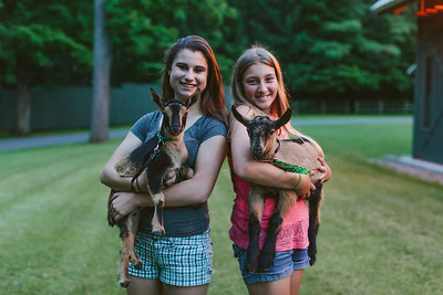 Avery Schneider with Jazzy and Mia Horvath with Chopin at The Glimmerglass Festival. Photo: Karli Cadel/The Glimmerglass Festival.