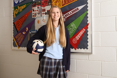 Like her older sister and brother, 2010 and 2012 graduates, respectively, of Monsignor Donovan High School, Athens, Rachel Krunkosky will follow in their footsteps by attending the University of Georgia. Photo By Michael Alexander