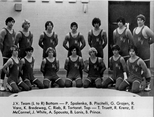 1976 McConnell- Wrestling