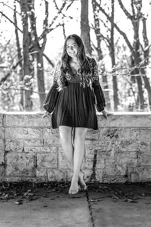 2020 Senior Sarah L BW-