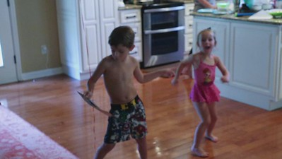 Video Cole dancing on his 5th birthday with Cambri