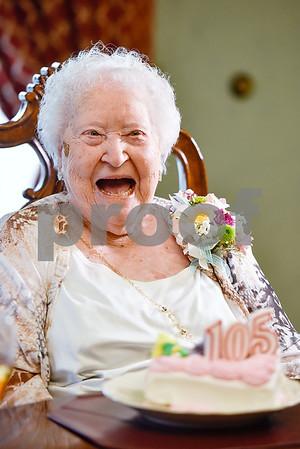 3/16/17 Jewel Stallings Celebrates 105th Birthday by Chelsea Purgahn