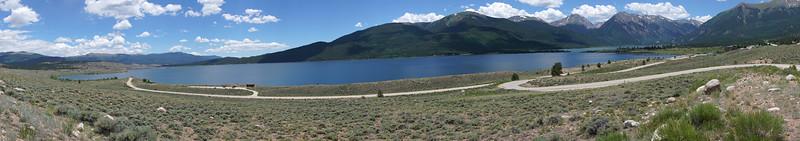 Twin Lakes - Panorama