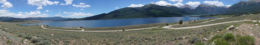 Twin Lakes - Panorama