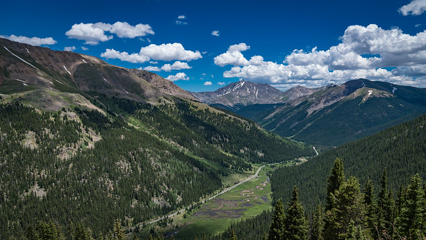 On the way to Independence Pass