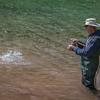 Trout Fisherman - Got one!