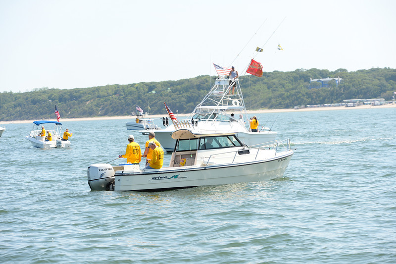SMITHTOWN NEW YORK, JUNE 15TH: SMITHTOWN BAY YACHT CLUB HOSTS 5TH ANNUAL SOLDIERS ON THE SOUND FLUKE FISHING TOURNAMENT SATURDAY JUNE 15TH 2013 IN SMITHTOWN, NEW YORK ( Photos by Joseph Bellantoni / In House Image)